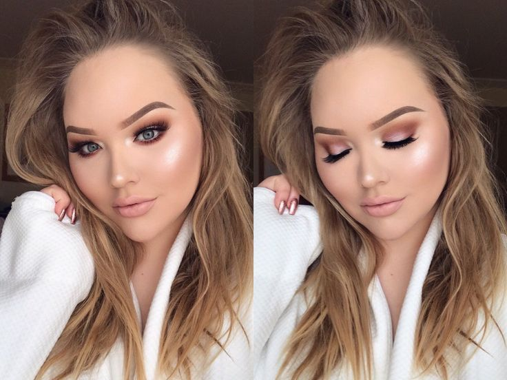 Nikkietutorials Makeup Looks >> Nikkietutorials Makeup Half Face Makeup Nikki Saubhaya